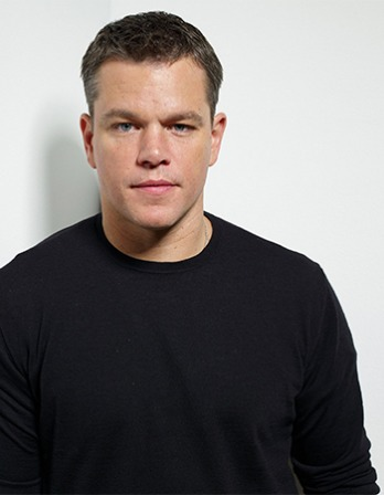 American actor, screenwriter, and producer Matt Damon.
