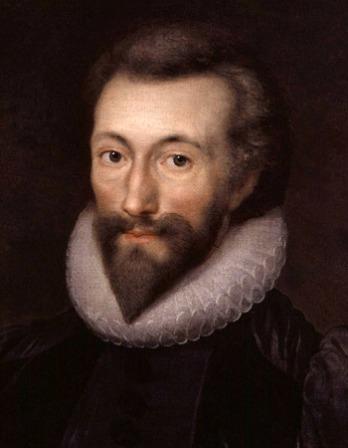 Color portrait of English poet John Donne.