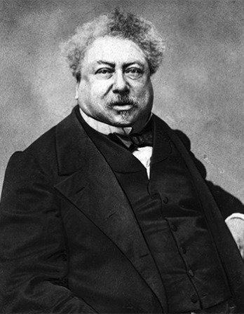French author Alexandre Dumas.