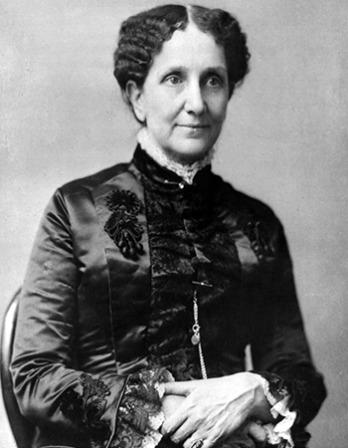 Founder of Christian Science Mary Baker Eddy.