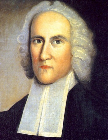 Portrait of American Puritan theologian Jonathan Edwards.