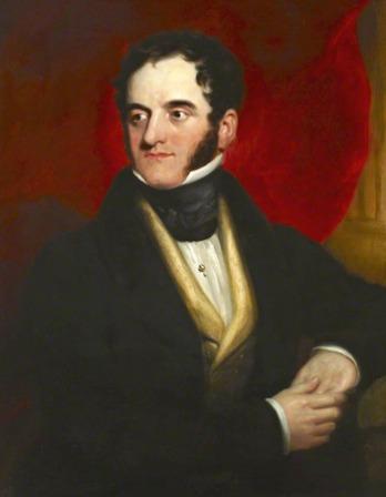 Portrait of English physician John Elliotson.
