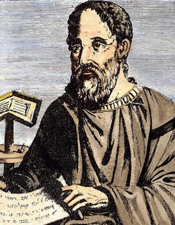 Bishop, polemicist, and historian Eusebius.