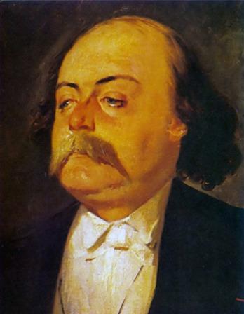 French novelist Gustave Flaubert.