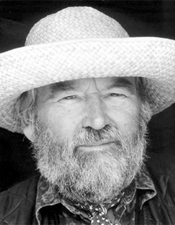 Photograph of English novelist John Fowles.