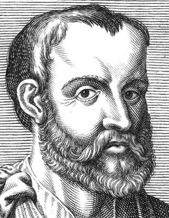 Greek physician, writer, and philosopher Galen.