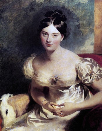 Irish author Marguerite Gardiner, Countess of Blessington.
