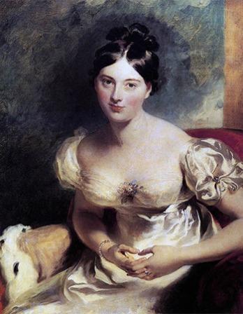 Irish author Marguerite Gardiner, Countess of Blessington.