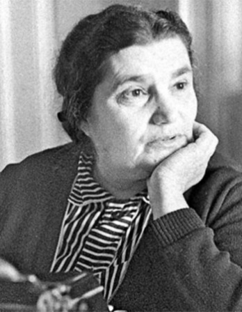 Russian author Yevgenia Semyonova Ginzburg.