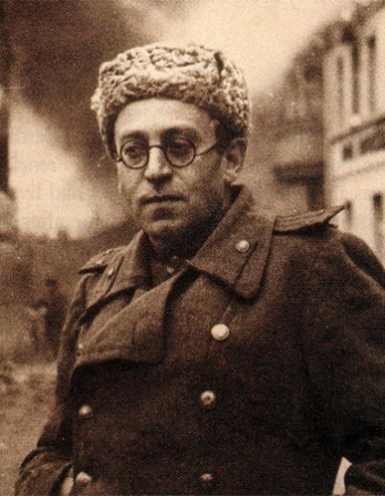 Photograph of Soviet Russian writer and journalist Vasily Grossman.