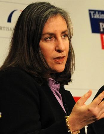 Political consultant and media advisor Mandy Grunwald.