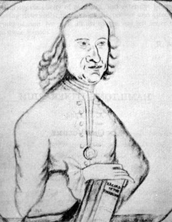 Scottish born doctor and writer Alexander Hamilton.