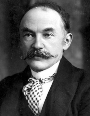 English novelist and poet Thomas Hardy.