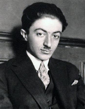 Iranian author Sadegh Hedayat.