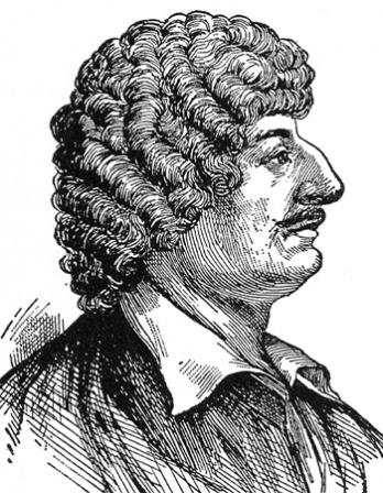 Engraving of Robert Herrick