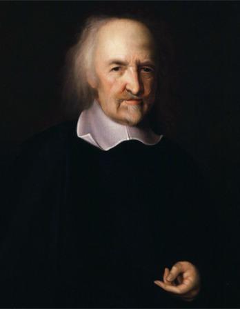 Painting of Thomas Hobbes