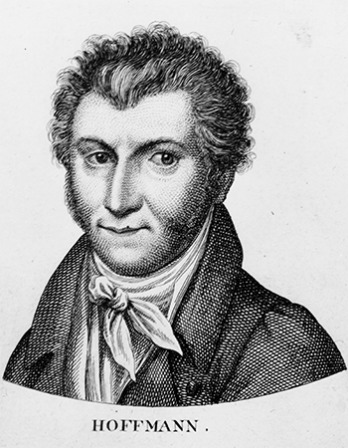 German writer, composer, and painter E. T. A. Hoffmann.
