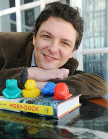 American author, essayist, and editor Donovan Hohn.