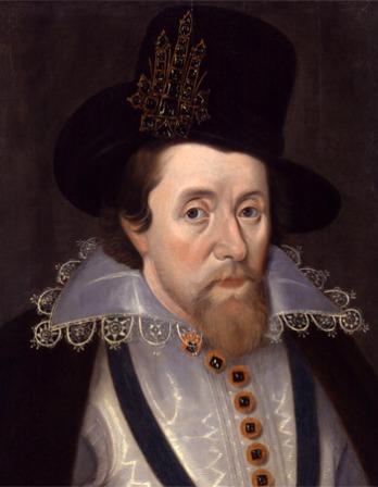 Portrait of King James I.