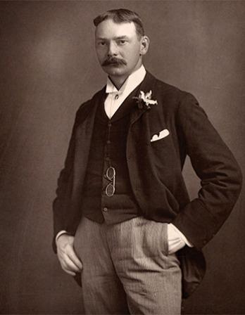 English writer Jerome K. Jerome.