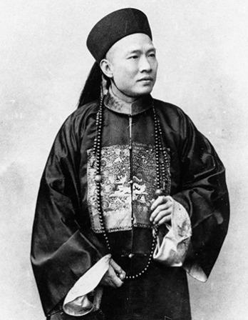 Chinese diplomat, general and scholar Chen Jitong.