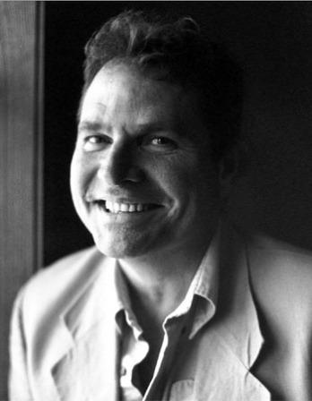 Photograph of American writer Denis Johnson.