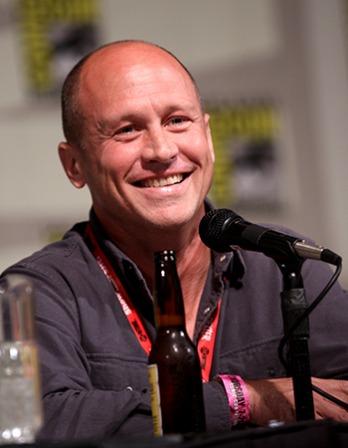 American animator, writer, and director Mike Judge.