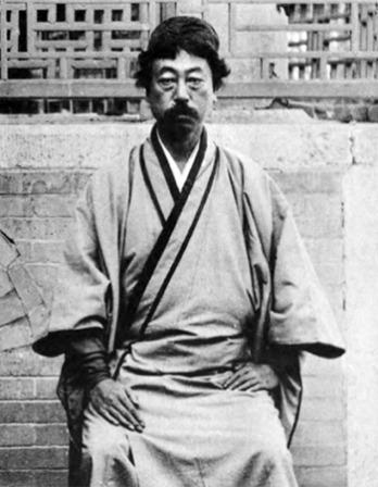 Japanese art critic Okakura Kakuzō.