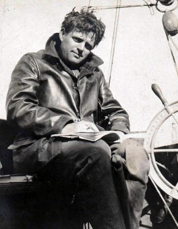 Photograph of American novelist Jack London.