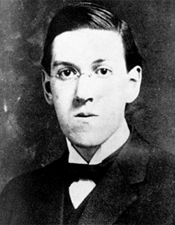 American author H.P. Lovecraft.