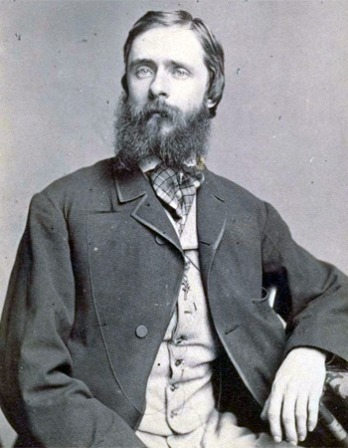 Photograph of journalist and author Fitz Hugh Ludlow.