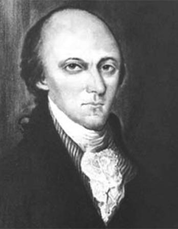 Depiction of Pennsylvania Senator William Maclay.