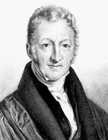 English economist and demographer Thomas Malthus.