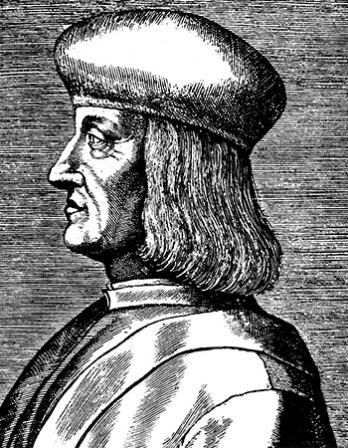 Printer and publisher Aldus Manutius the Elder.