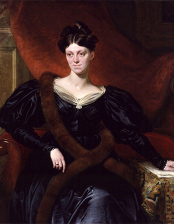 English essayist, novelist, journalist, and historian Harriet Martineau.