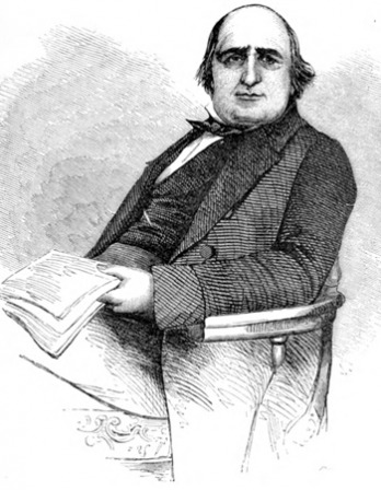 Image of English journalist and sociologist Henry Mayhew.