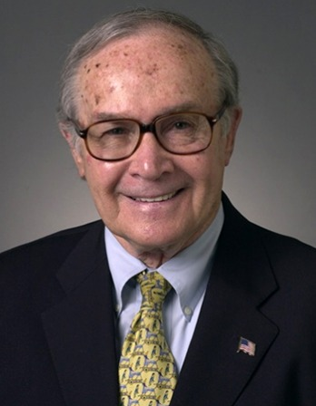 Former chairman of the FCC Newton Minow.
