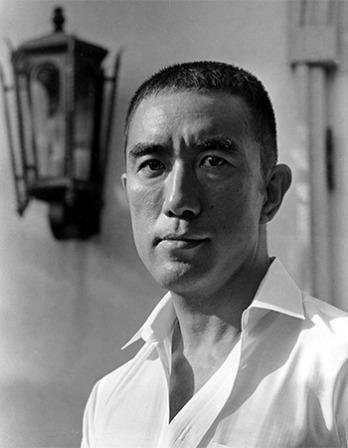 Japanese author Yukio Mishima.