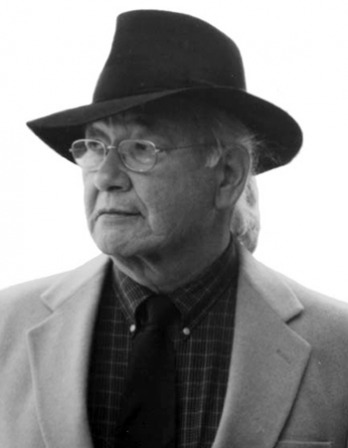 Photograph of Native American author N. Scott Momaday.