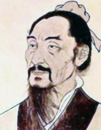 Depiction of Chinese philosopher Mozi.