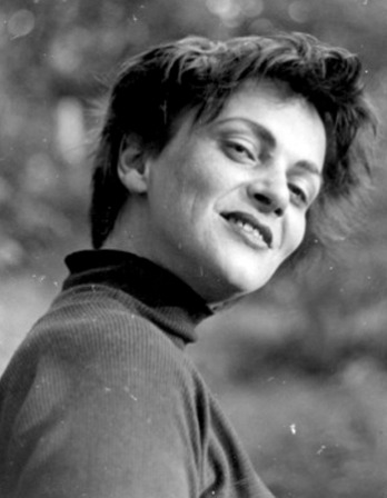Photograph of East German writer Inge Müller.