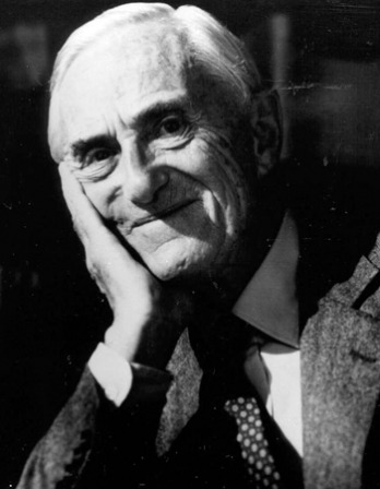 Photograph of British novelist Patrick O'Brian.