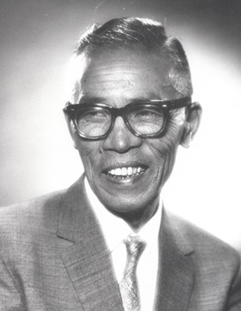 Founder of the Macrobiotic diet and philosophy George Ohsawa.