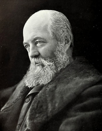 American landscape architect Frederick Law Olmsted.