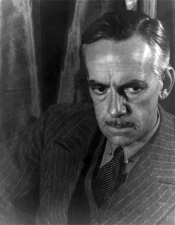 Photograph of American dramatist Eugene O'Neill.
