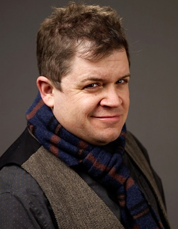 Comedian, actor, and writer Patton Oswalt.