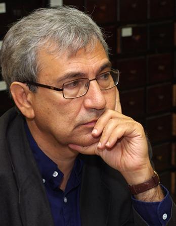 Turkish author Orhan Pamuk.