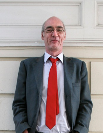 English art historian, novelist and journalist Iain Pears.