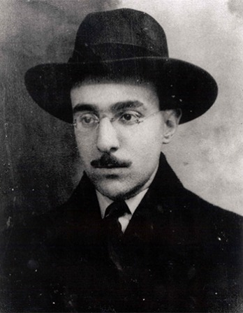 Portuguese poet Fernando Pessoa.