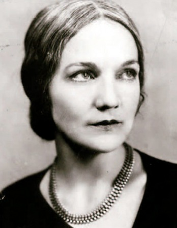 Photograph of American novelist Katherine Anne Porter.